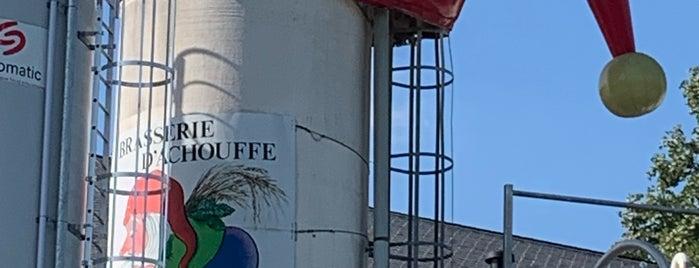 Brasserie d'Achouffe is one of Beer / RateBeer Best in Belgium.