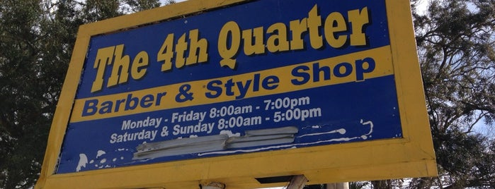 The 4th Quarter Barber & Beauty Shop is one of Bradleyさんのお気に入りスポット.