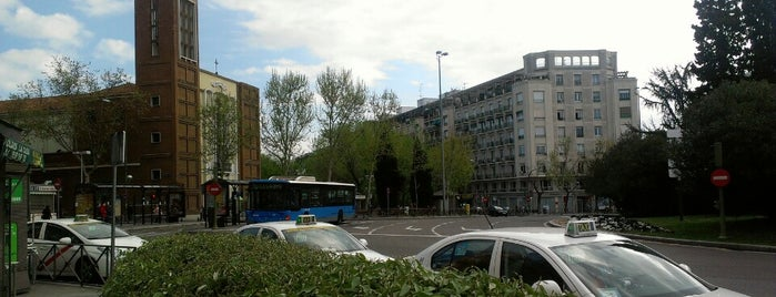 Plaza de Manuel Becerra is one of Favorite Aire libre y recreación.