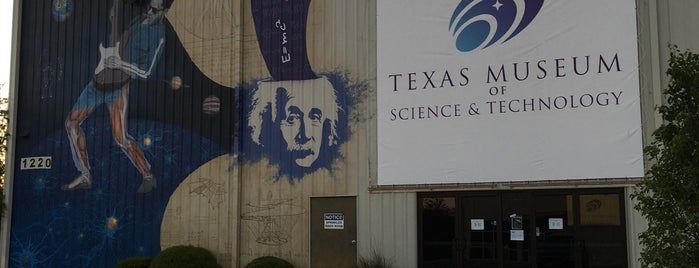 Texas Museum of Science and Technology is one of Matthew 님이 좋아한 장소.