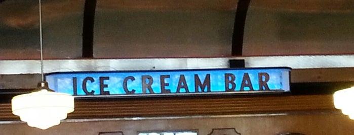 The Ice Cream Bar Soda Fountain is one of San Francisco to-do list.