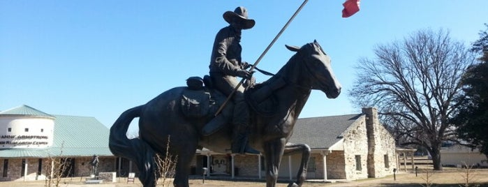 Texas Ranger Hall of Fame and Museum is one of Texas Places to Try.