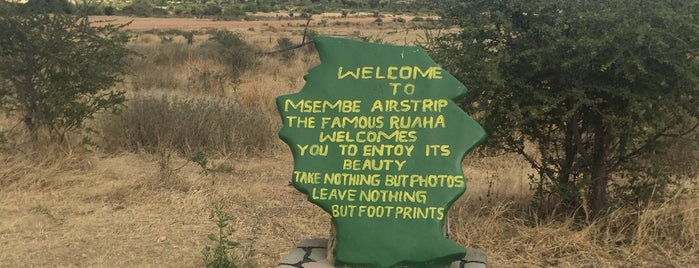 Msembe Airstrip (MSE) is one of visited airports.