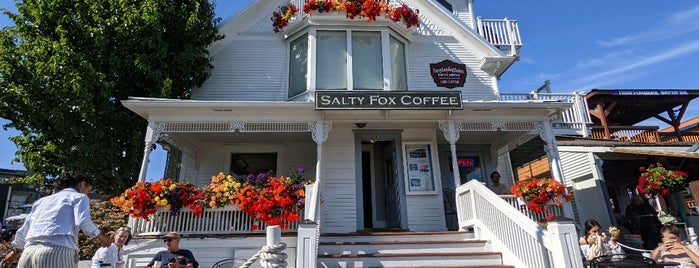 Salty Fox Coffee is one of British Columbia.