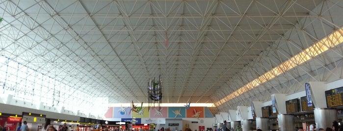 Aeropuerto de Gran Canaria (LPA) is one of Aeroporto.