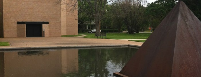 Rothko Chapel is one of Houston.