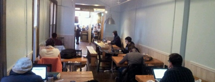 The Breukelen Coffee House is one of Laptop Friendly Work Spaces.