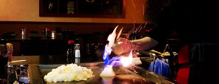 Shoguns Japanese Grill & Sushi Bar is one of KNIVES UP.
