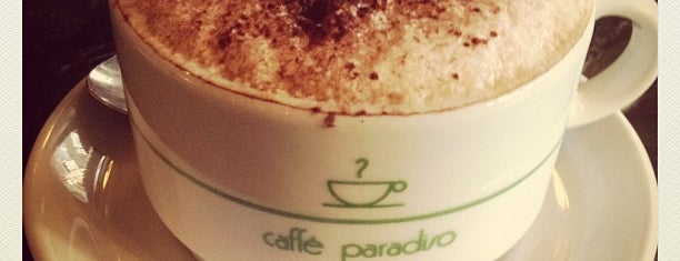 Caffe Paradiso is one of My Favorite Coffee Shops.
