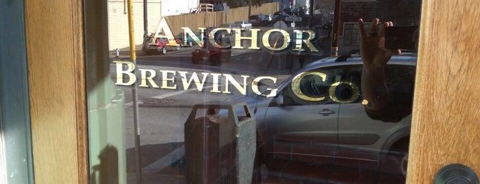Anchor Brewing Company is one of Breweries in the USA I want to visit.