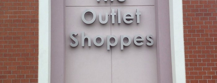 The Outlet Shoppes at Atlanta is one of Lieux qui ont plu à SooFab.