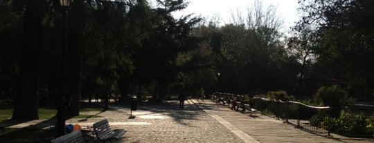 Parque Quinta Normal is one of [S]antiago.