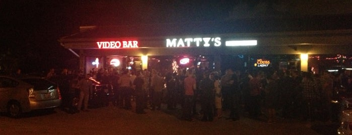 Matty's on the Drive is one of Must-visit Gay Bars in Wilton Manors.