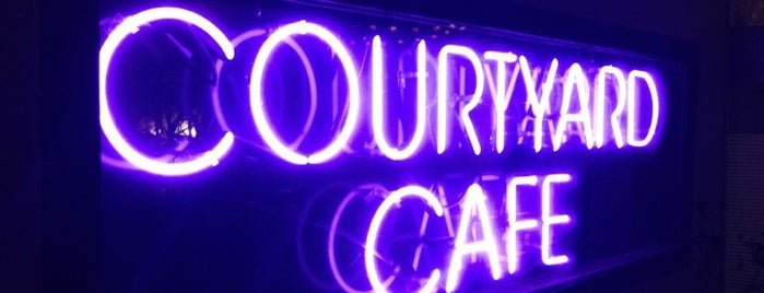 Courtyard Cafe is one of My Favorite Eating Spots in Broward County.