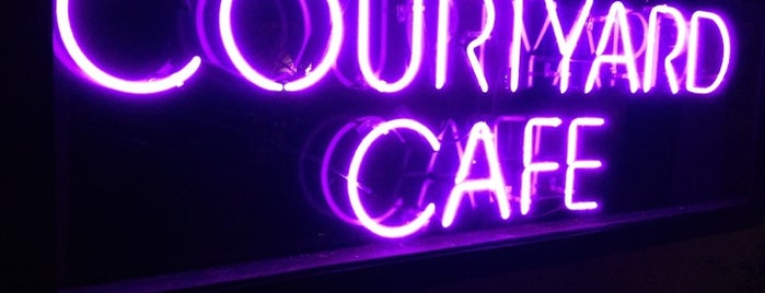 Courtyard Cafe is one of Dining Out in Wilton Manors.