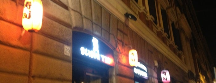 Sushi Tei is one of Roma locali: checked.