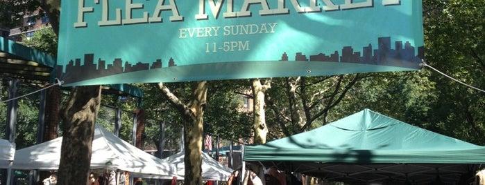 LES Flea Market is one of LES.