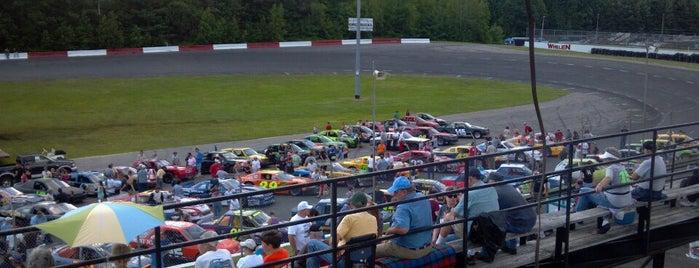 Monadnock Speedway is one of Locais salvos de Jason.