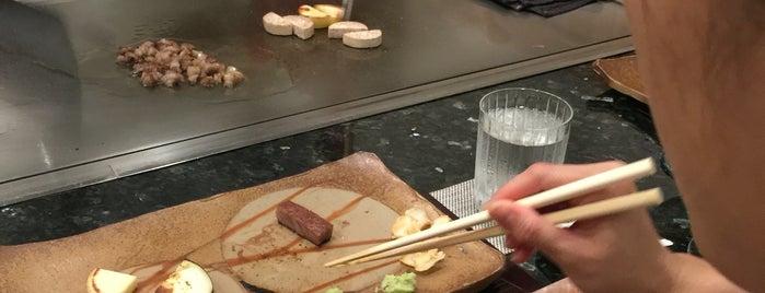 Teppanyaki Ginza Onodera is one of Hawaii to try.