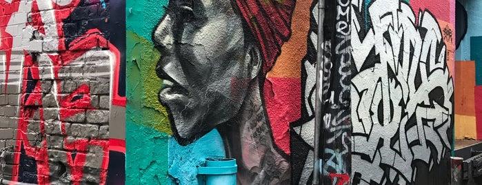 Grafitti Alley Bulwer Street is one of Toronto.