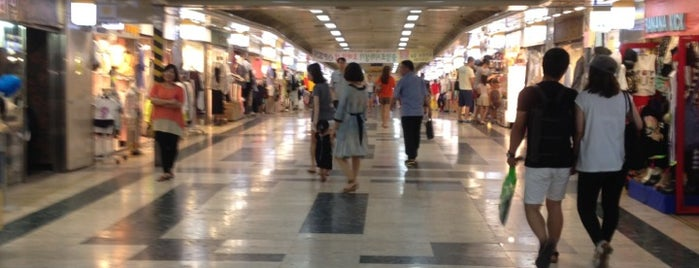 Underground Shopping Mall is one of My Korea-Japan Trip'13.