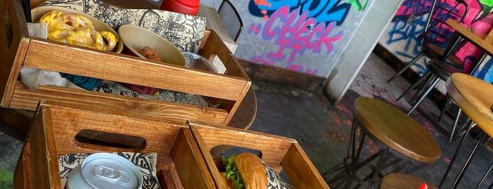 Graffiti Burger is one of Dubai.
