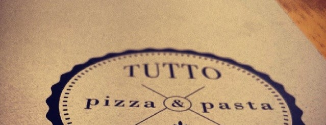 Tutto Pizza & Pasta is one of Lieux sauvegardés par Dade.