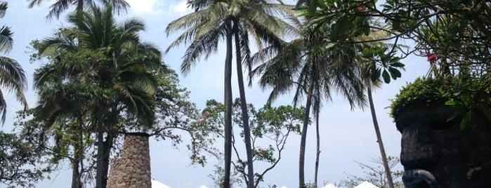 Sheraton Senggigi Beach Resort is one of best place in Lombok.