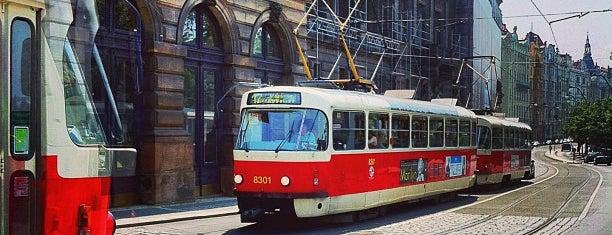 Národní divadlo (tram) is one of Lugares favoritos de Miloslav.