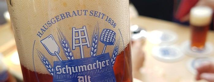 Brauerei Schumacher is one of Lugares favoritos de Alisa.