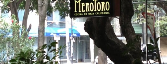 Merotoro is one of Mexico City Top 10 Best Restaurants 2011.