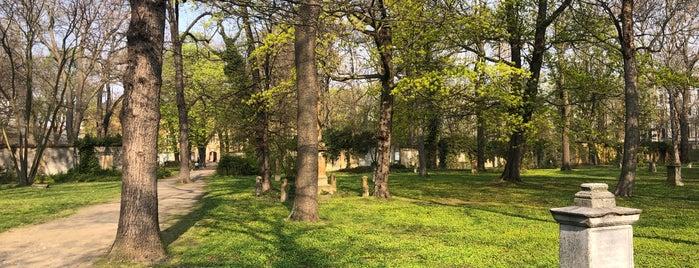 Alter Johannisfriedhof is one of Leipziger Notenspur.