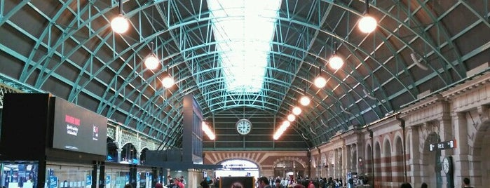 Central Station is one of SYD.
