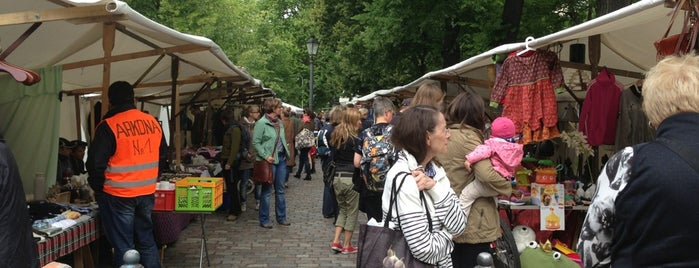 Trödelmarkt Arkonaplatz is one of Galinaさんの保存済みスポット.