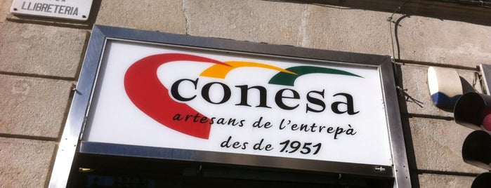 Conesa Entrepans is one of Barcelona.