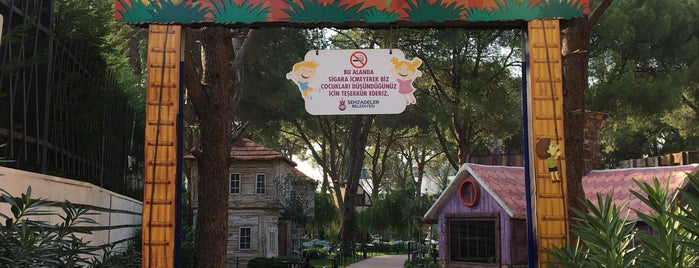 Şehzadeler Park is one of Manisa.
