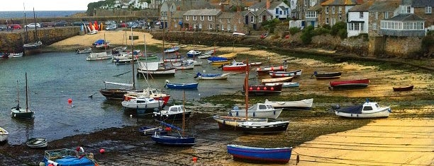 Mousehole Harbour & Beach is one of Cornwall.