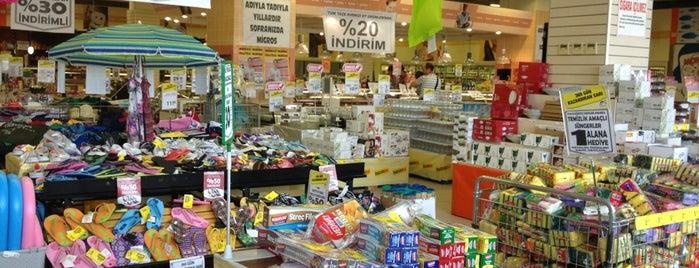 Migros is one of Ankara AVM ve mağazaları.