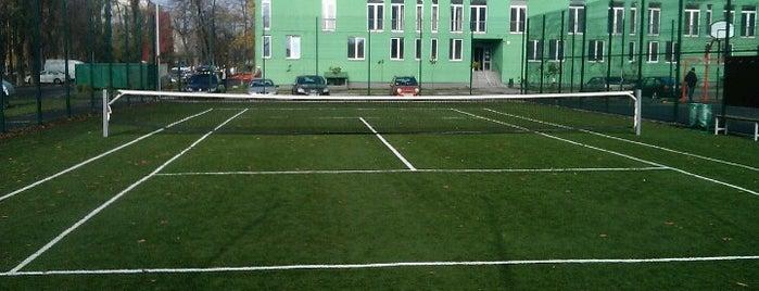Теннисная Площадка В Комфорттауне is one of Danaさんの保存済みスポット.