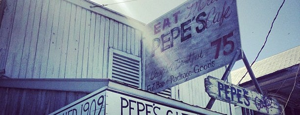 Pepe's Cafe is one of Keys Dining, Desserting and Fun.
