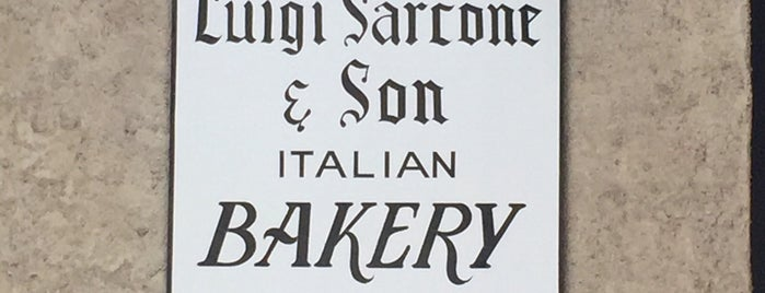 Sarcone's Bakery is one of Philly.