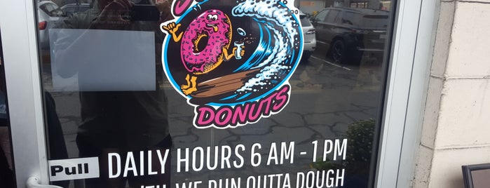 Surfside Donuts is one of Highway 101.