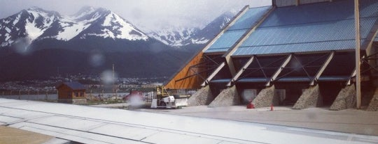 "Aeropuerto Internacional de Ushuaia ""Malvinas Argentinas"" (USH) is one of Airports been to."
