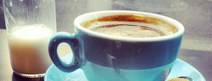 Laboratorio Espresso is one of The Telegraph best & busiest UK coffee shops.