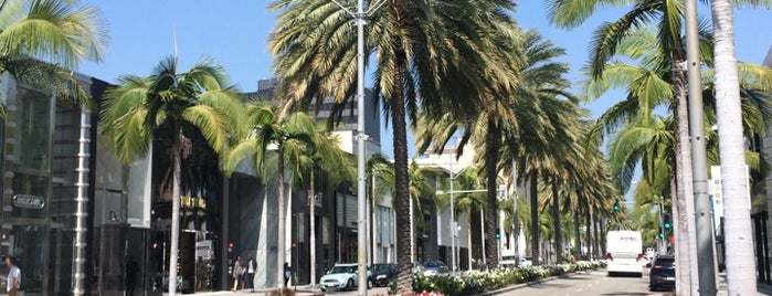 Rodeo Drive is one of LA Road Trip.