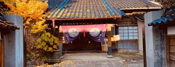 圓長寺 is one of Lieux qui ont plu à Nami.