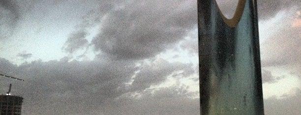 Kingdom Tower Skybridge is one of Riyadh.