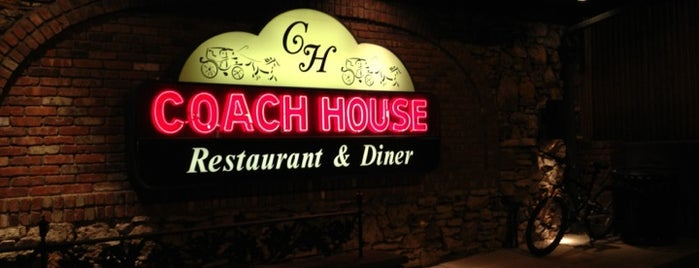 Coach House Diner & Restaurant is one of Locais curtidos por Krissy.