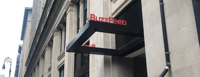 BuzzFeed is one of Locais curtidos por Danyel.