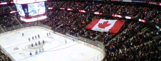 Canadian Tire Centre is one of US Pro Sports Stadiums - ALL.